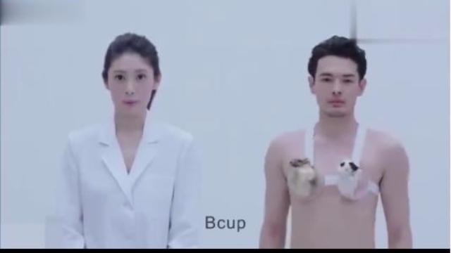 日本神级创意广告-你知道女生胸部有多重吗?