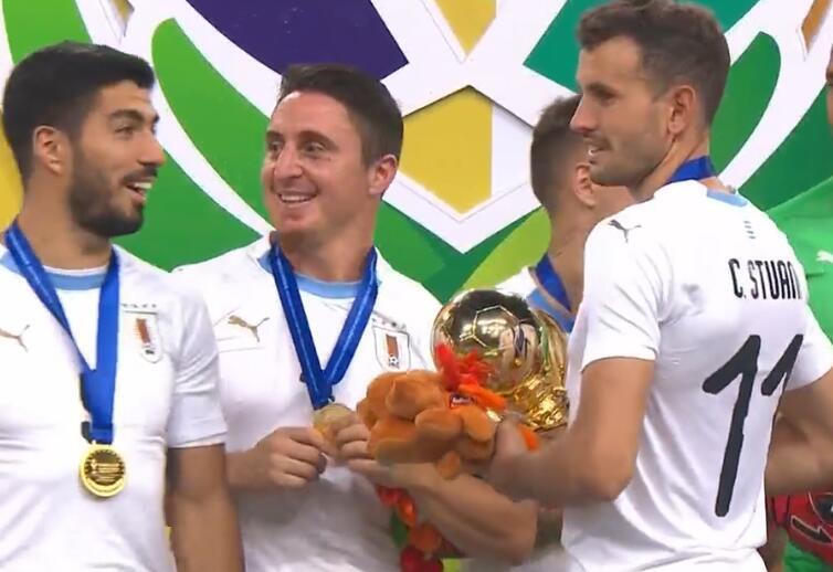 中国杯大结局:乌拉圭夺冠国足垫底 贝尔最佳射手