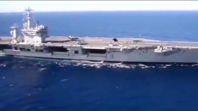 美军航母硬闯渤海,中国军人忍无可忍,美国惨遭打脸!