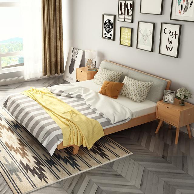 现在最流行床款式图片_好看的床头样式图片图片