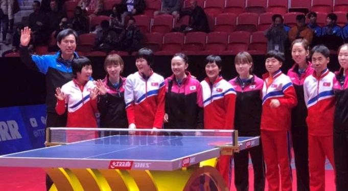 国乒教练:朝韩组队对我们没影响 若碰面还是能赢她们