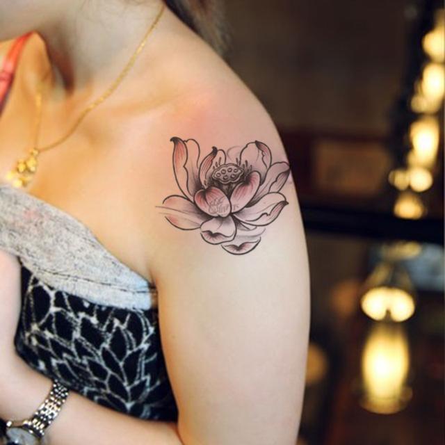 女生这5个部位贴个纹身贴,真的很美