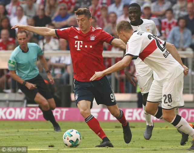 德甲赛季大结局:拜仁完成六连冠 汉堡队史首次降级