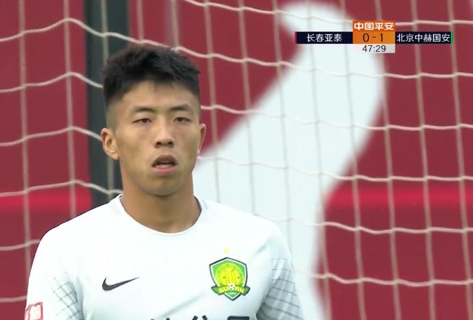 国安派20岁守门员首发 成中超第一位U23门将出场