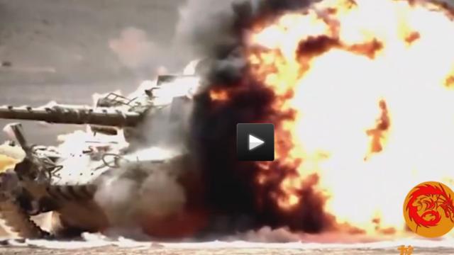 埃及坦克车内温度过高热死两人,坦克兵抗议:让我回家!
