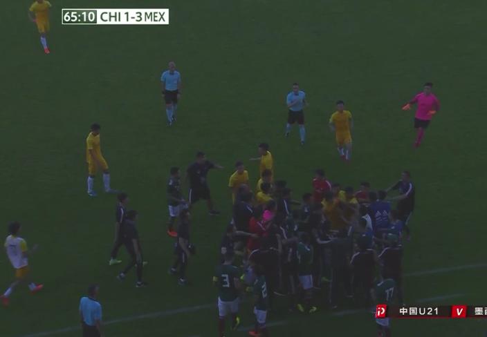 输球输人!中国球员报复引冲突 若在中超被禁赛12场