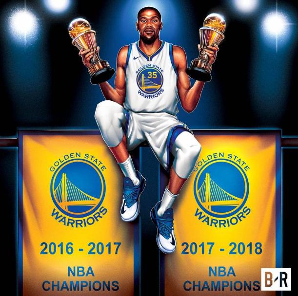 NBA大数据:杜少蝉联FMVP刷里程碑 詹皇6输总决赛太惨