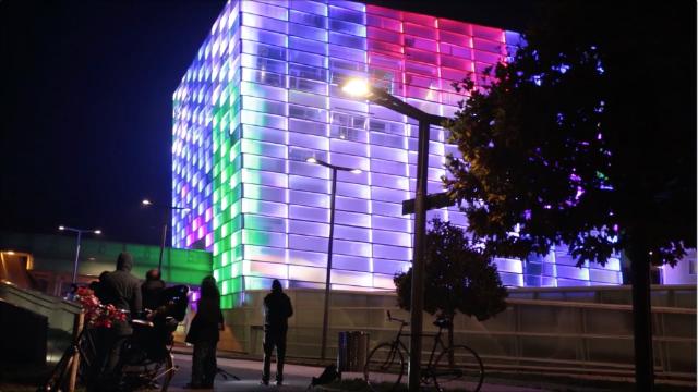 城市开启游戏模式:大楼成了手中的魔方
