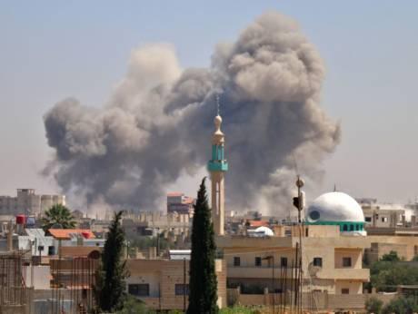 时时彩十大信誉平台:纷乱的叙利亚西南部战事