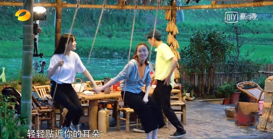 杨颖和倪妮一起参加节目 暴露了完全相反的性格