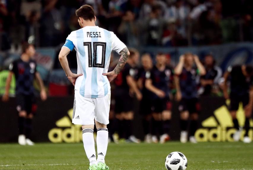 梅西:请不要告别国家队,失败中的坚持才会更加伟大!
