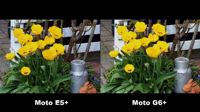 摩托 E5 Plus与摩托G6 Plus 相机画质测试对比