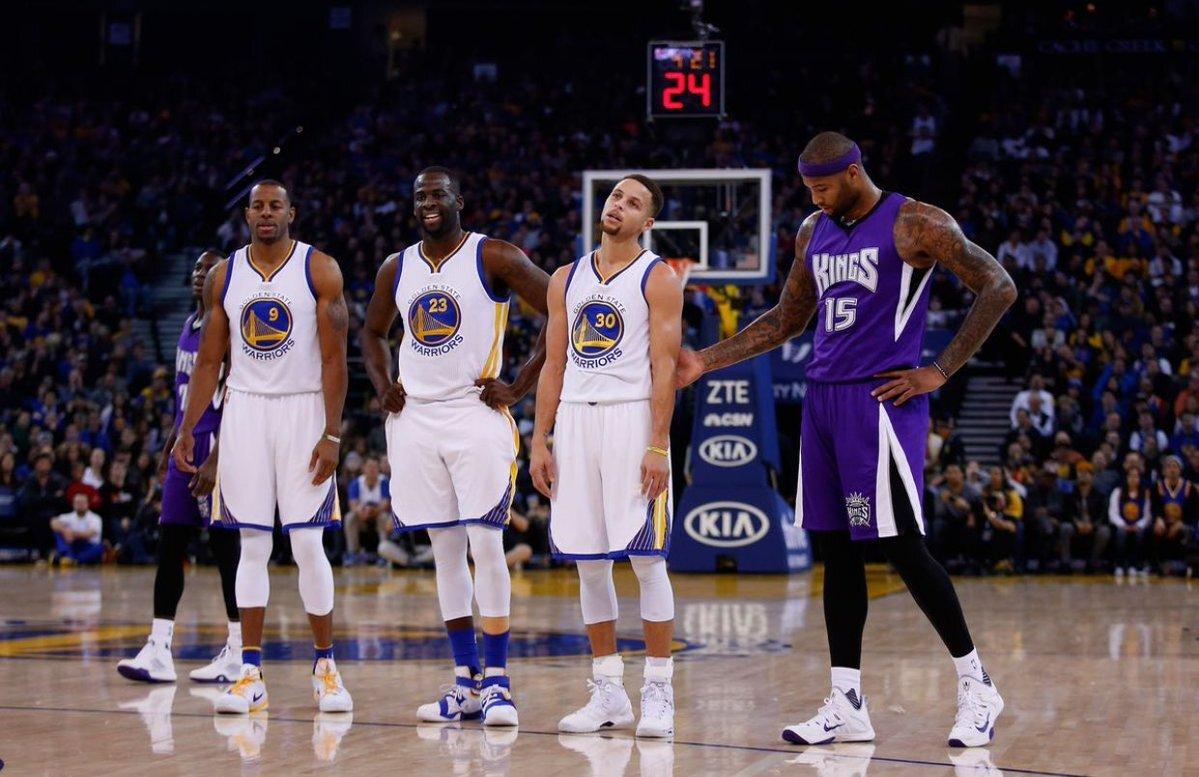 考辛斯加盟勇士更无解 NBA史上第一支4先发上季场均20+队