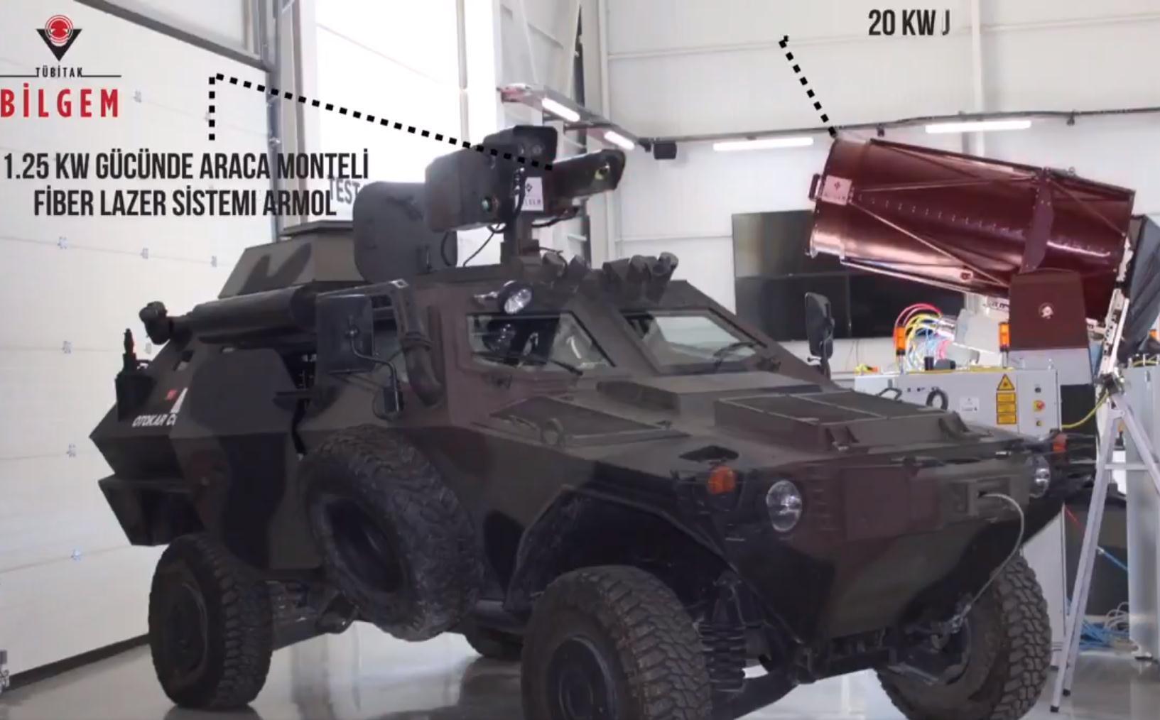 土耳其公布新型激光武器系统,可在500米之外轻松穿透22毫米钢板