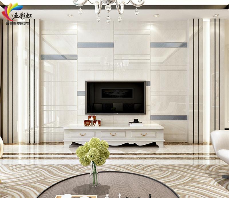 15款现代简约边框装饰,石材镶嵌铝材电视背景墙!