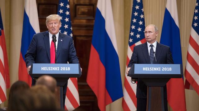 特朗普会见普京时称:美俄两国拥有90%核武器 这不是啥好事