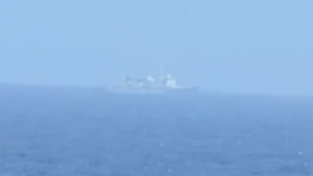环太平洋军演附近海域拍到疑似中国海军侦察船
