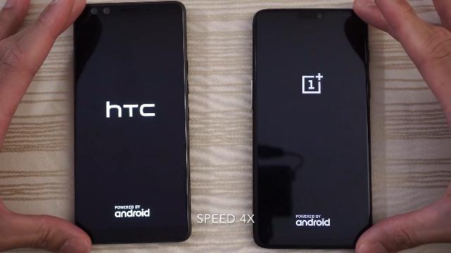HTC U12 Plus与OnePlus 6 速度测试对比