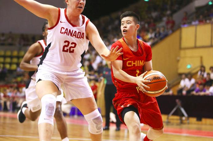 中国女篮轻取加拿大,邵婷6分5助攻李月汝11分10篮板