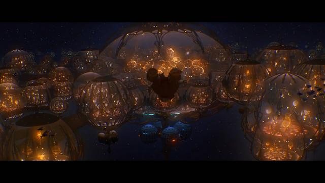 这个种族生活在海底之城,海底巨兽与之为邻
