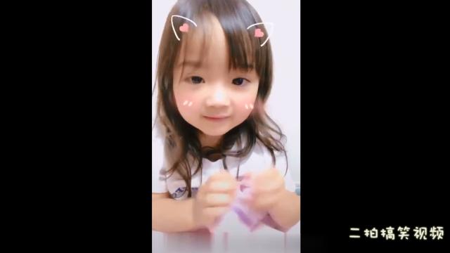 【日本版的学猫叫】如此可爱的小萝莉,喵地我心都化啦..