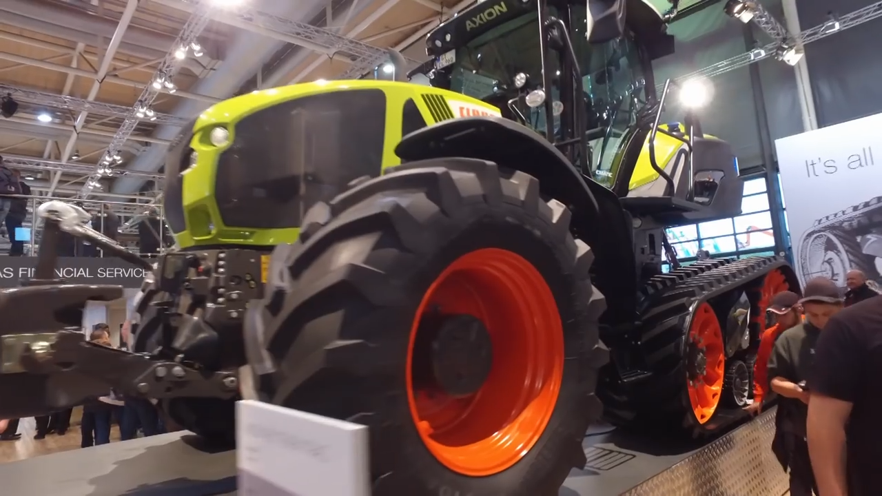 汉诺威德国国际农机展克拉斯展区,农机的顶级展会农民的饕餮盛宴