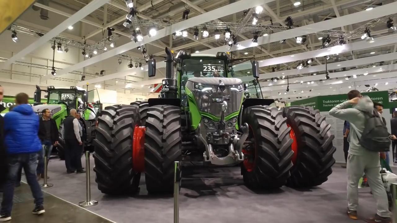 汉诺威德国国际农机展芬特展区,农机的顶级展会农民的饕餮盛宴