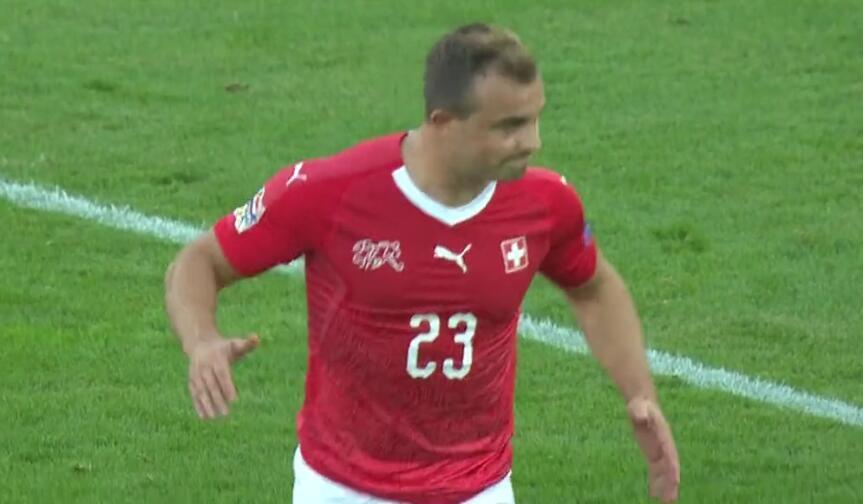 任意球破门+独造3球!红军大将率瑞士迎欧国联开门红