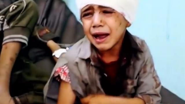"""美媒:美助力沙特联军袭击也门 大量平民惨死""""美国制造""""之下"""