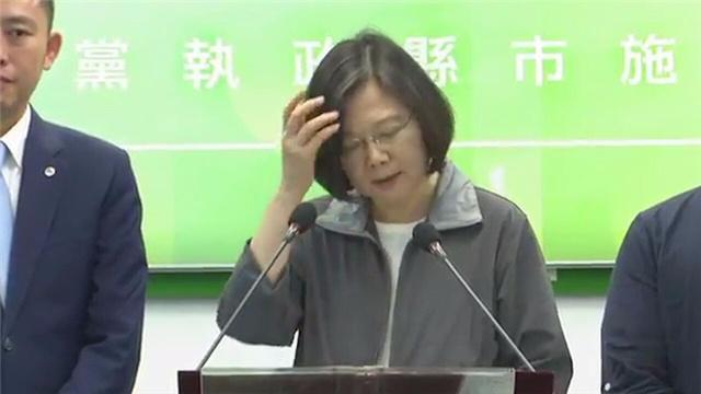 大言不惭!蔡英文妄称民进党最会照顾人民 台网友怒斥:你疯了