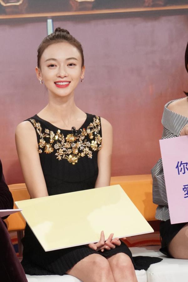 """吴谨言录制TVB人气旺 媒体点赞""""亲和力十足"""""""