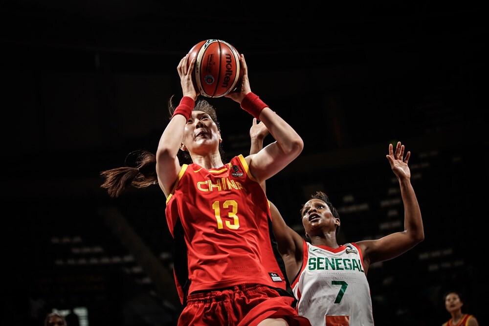 11人得分!中国女篮力克塞内加尔 小组第二晋级8强