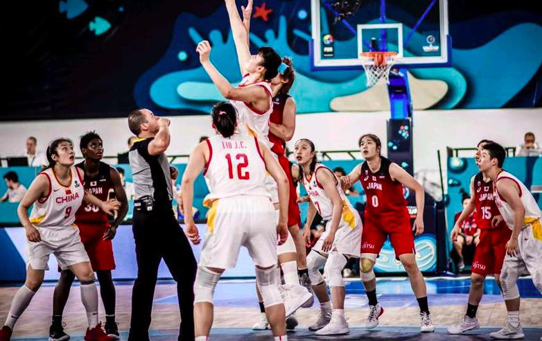 中国女篮结束一项尴尬 时隔7年首度大赛中赢日本一队