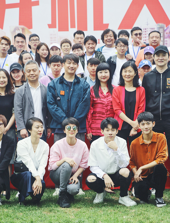 海清出席《小欢喜》开机仪式 掀中国家庭高考回忆