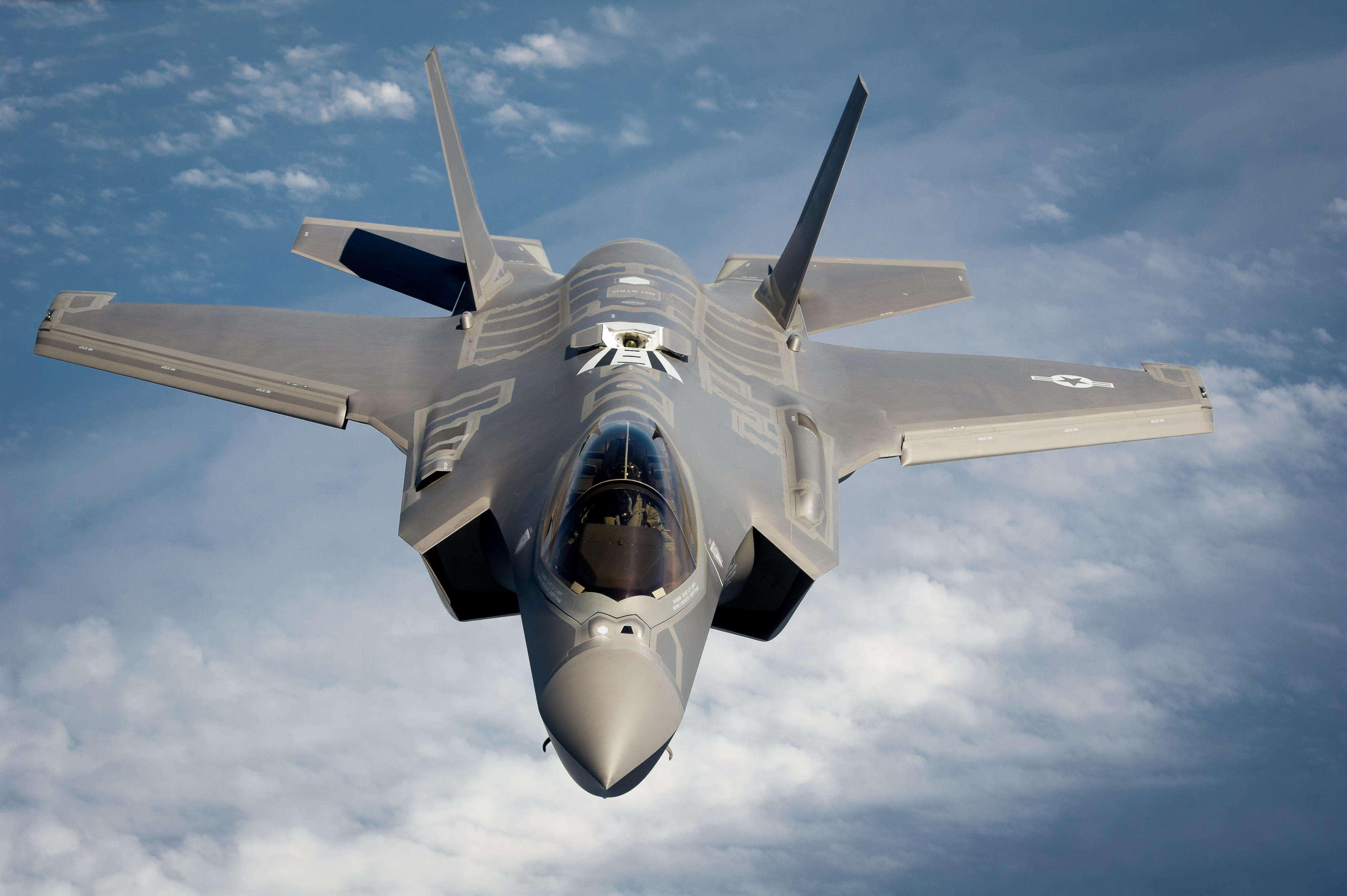 最值錢戰機全球首摔!美軍最新戰機F