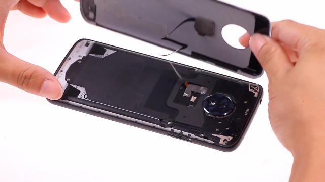 Moto G6 Play拆解教程