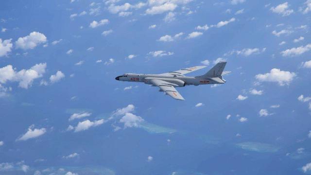 霸气!外媒曝中国海军新接收了4架这款轰炸机:可巡航整个南海