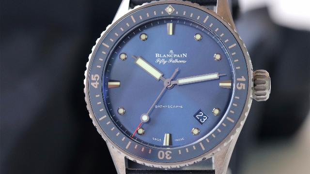 左腕表舍:ZF宝珀新款五十噚蓝面腕表评测