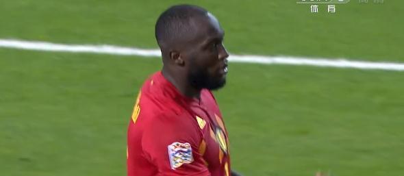 卢卡库回比利时就暴走 梅开二度结束八场球荒