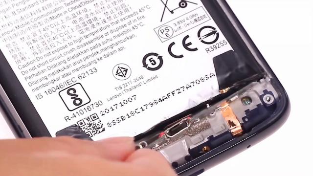 Moto G6 Play数据充电端口更换教程