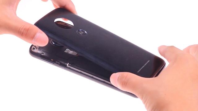 Moto G6 Play后盖更换教程