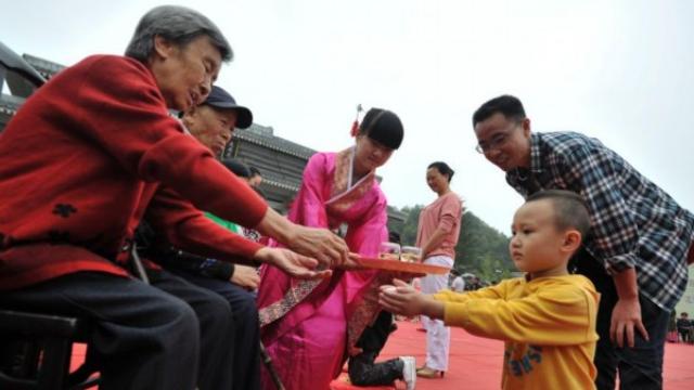 重阳节    遵义隆重举办孝道文化主题教育活动