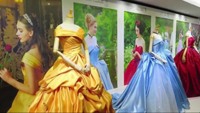 """梦幻嫁衣!日本推出""""迪士尼公主婚纱""""!100%超还原!"""