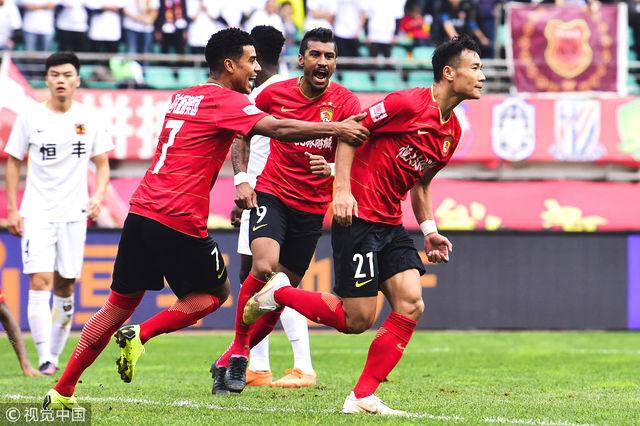 张成林斩恒大生涯联赛首球 时隔1085天中超再破门