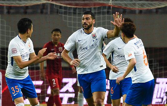 佩莱连续8场破门创队史纪录 中国顶级联赛仅仰望两人