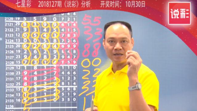 说彩-2018-10-30七星彩开奖预测资讯