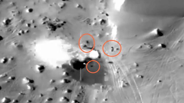 恐怖分子藏匿点被轰炸视频曝光!埃及军方公布反恐成果