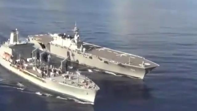 日本舰艇与中国海军在南海喊话 中方用英语机智回应反将日方一军