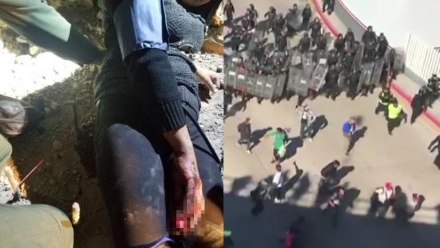 痛心一幕!难民母亲攀爬美边境 当着2个孩子的面跌落被钢筋刺穿
