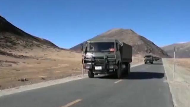 再见了我的川藏线 退伍老兵执行最后一次川藏线配送保障任务